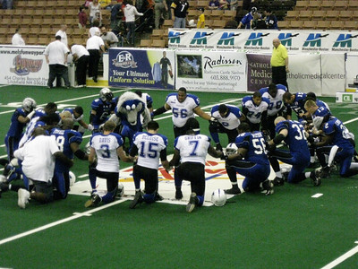 Manchester Wolves vs. Wilkes-Barre/Scranton Pioneers, July 24, 2009