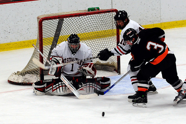 St Sebs Hockey v Thayer  2.23.2008 at Harvard    D300 Nikon