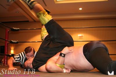 "Saturday Matches ""Nightmare"" Ted Allen vs Gludious Maximus"