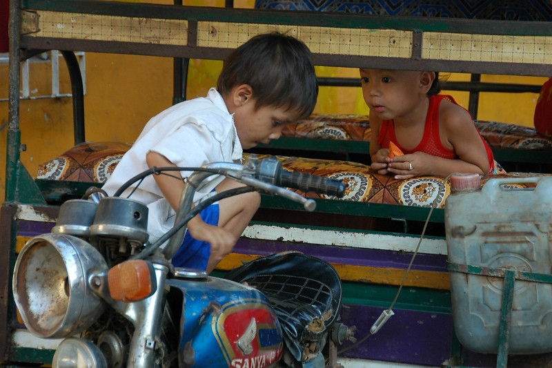 Young Mechanic - Phnom Penh, Cambodia