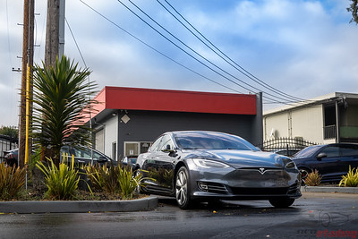 Model S - Front End PPF and CQFR Coating