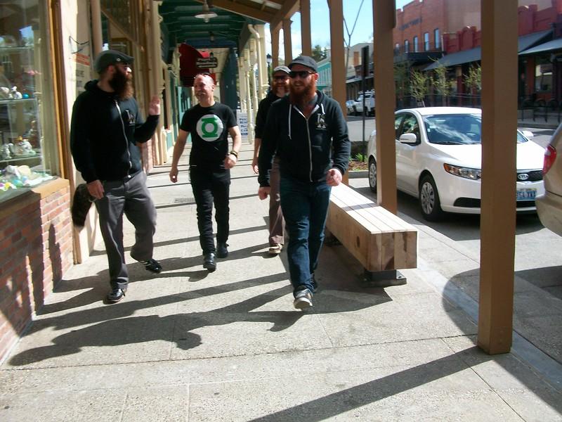 Nate, Al, Steve, & John