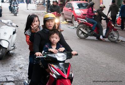 Wandering around Hanoi pt 3 - January 2012