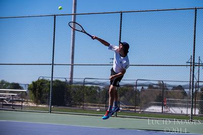 Fremont at Roy Boys Tennis 5-4-17