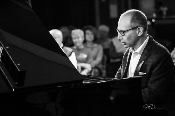 Ted Rosenthal Trio (B&W)