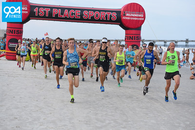 Tijuana Flats Summer Beach Run 2018