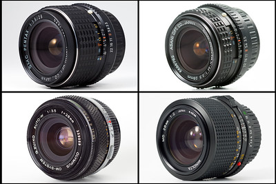 Comparison 28mm lenses