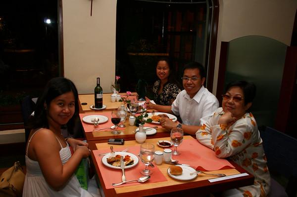 Vit & May's Birthday Dinner at the Penninsula
