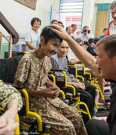 Ho Chi Minh City Wheelchair Distributions