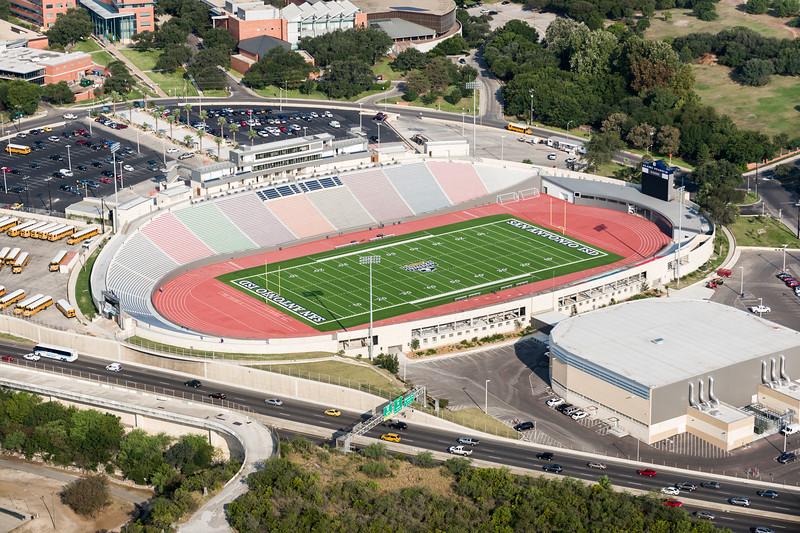 09/23/2014 092642 -- San Antonio, TX -- © Copyright 2014 Mark C. Greenberg  Alamo Stadium