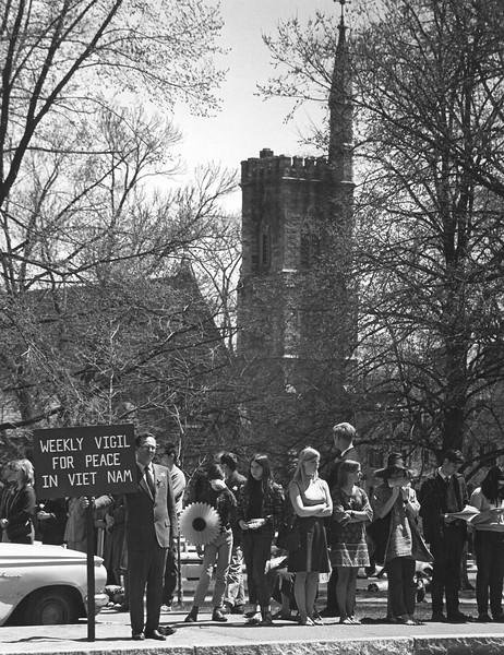 Days Gone By: Images of Peaceful Protest from The Eagle's archives