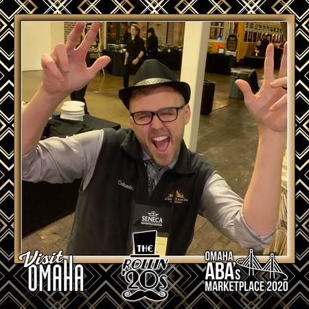 1-12-2020 Omaha ABA's Marketplace Mobile Photo Booth