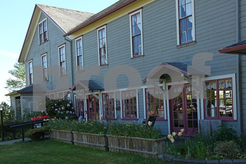 The Tokeland Hotel in Tokeland, WA is on the State Historical Register and offers overnight accomodations and fine dining.