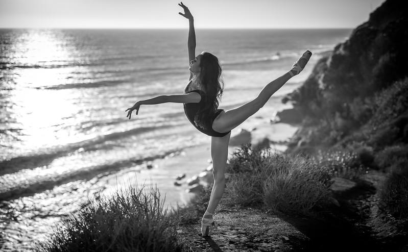 Fine Art Ballet Photography: Nikon D810 Elliot McGucken Fine Art Ballerina Dancer Dancing Ballet Seascape Landscape Photography!