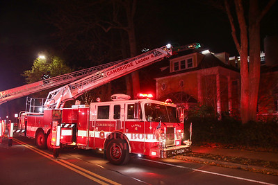 Cambridge, MA - Working Fire, 168 Brattle Street, 11-20-17