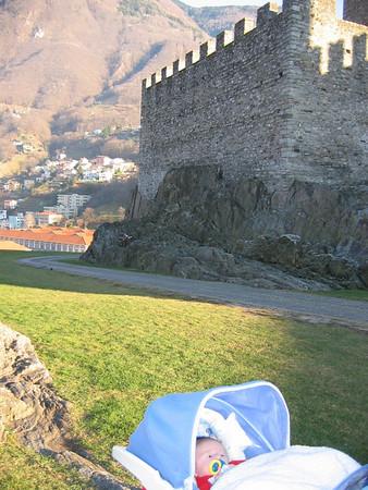 Primer viaje al extranjero: Suiza (Lugano y Bellinzona) / First trip outside of Italy, Lugano & Bellinzona, Switzerland