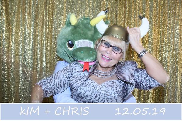 KIM + CHRIS