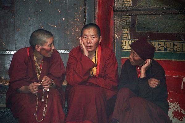 ontmoetingen in Lhasa