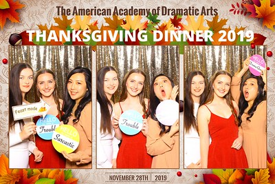 American Academy Thanksgiving 11/28/19