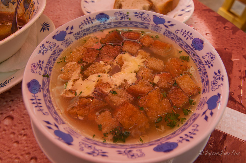 Cesnačka - Garlic soup