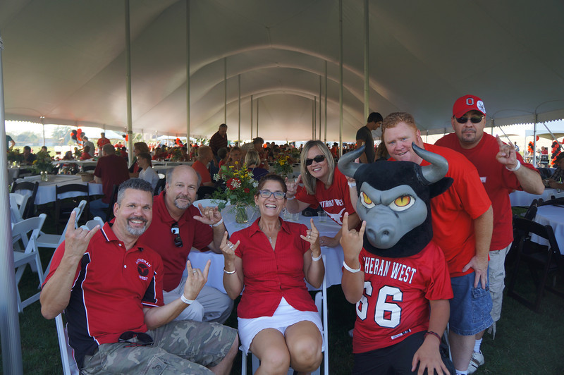 Lutheran-West-Longhorn-at-Unveiling-Bash-and-BBQ-at-Alumni-Field--2012-08-31-115.JPG