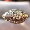 1.18ctw Art Deco Princess Halo Ring 36