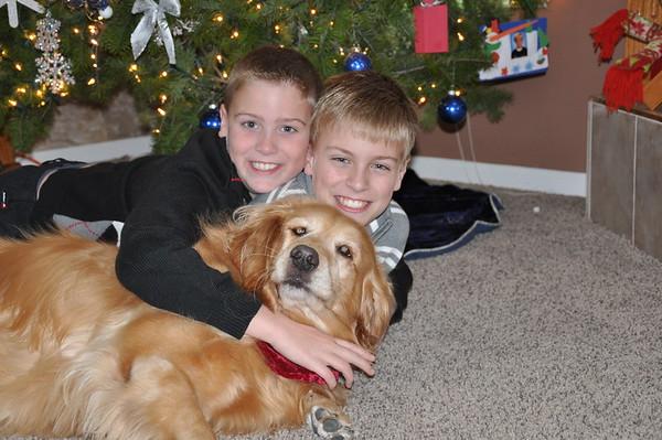 Boys & Abby Christmas 2010