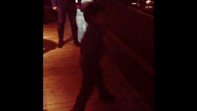 Dylan Birthday Dance off - February 19th 2015 - Andiamos Resturant - Dearborn, MI.mp4