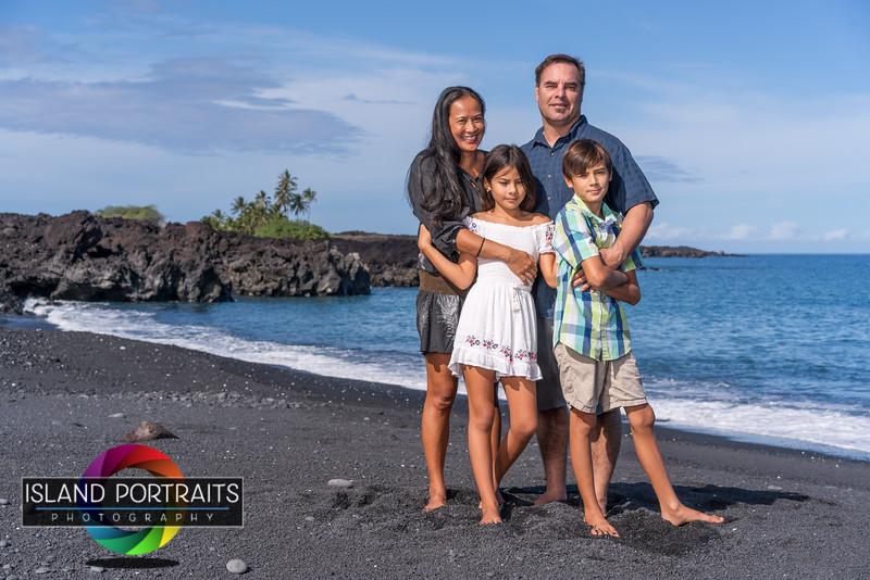 Davis Kiholo Beach Family Portrait