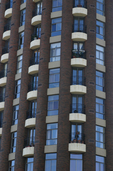 There seem to me to be very few ugly buildings here. Even in symmetry, there's asymmetry with the way windows or balconies are treated, making it intriguing to one's eyes.