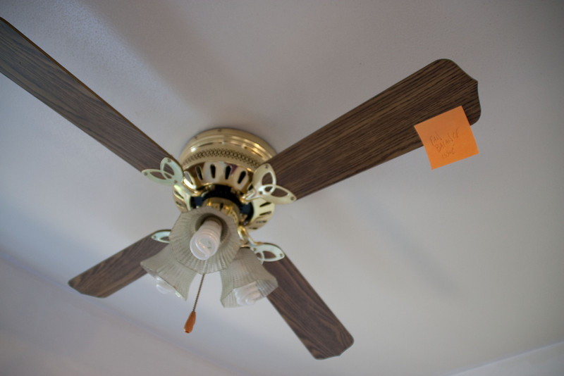 Fan is unbalanced. I'm not saying there's any relation--
