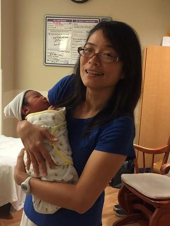 Skylar at Mother-Baby Unit