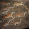 South African Museum; San rock paintings