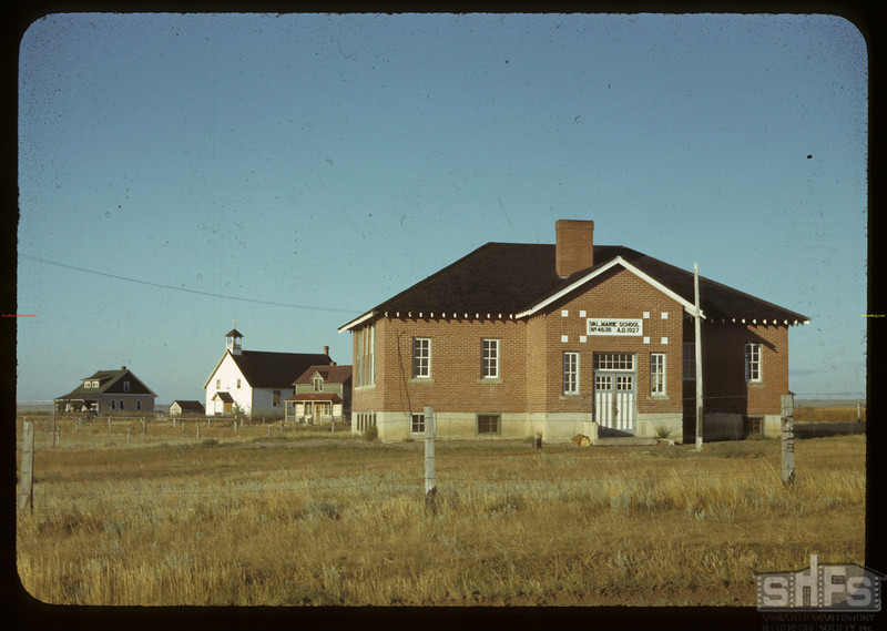 Church and School. Val Marie. 08/28/1942