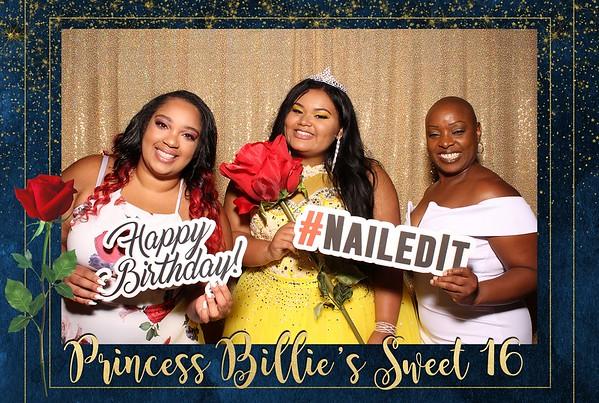 Billie's Sweet 16