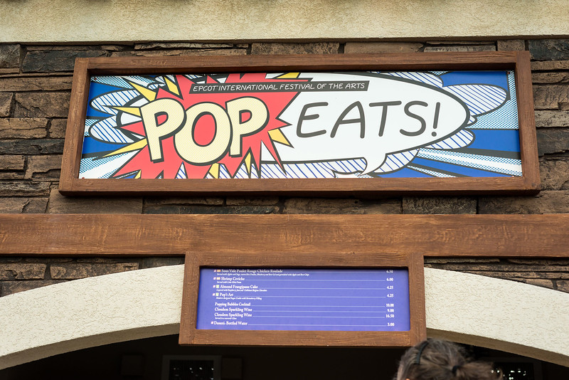 Epcot International Festival of the Arts - Pop Eats! Kiosk - Magic Kingdom Walt Disney World