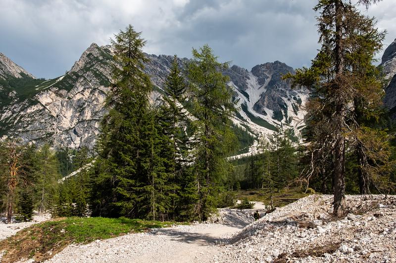 Trek okolo jezera Lago di Braies