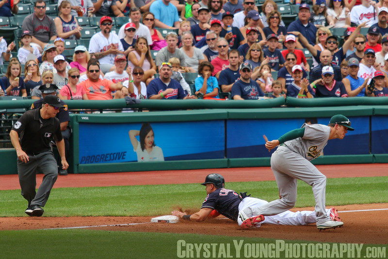 Oakland A's at Cleveland Indians July 31, 2016
