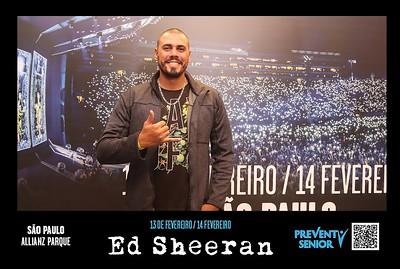 13 e 14/02/2019 - Ed Sheeran