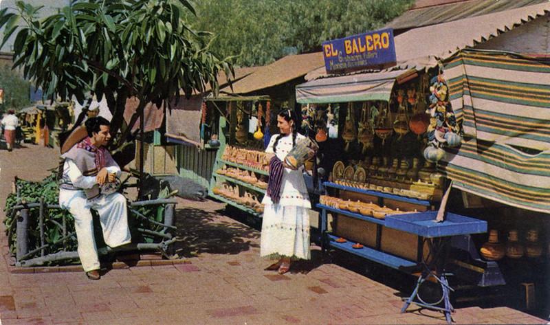 Olvera Street People