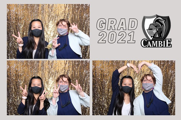 Cambie HS Grad 2021 Booth