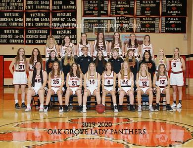 2019-2020 OGHS Girls Basketball