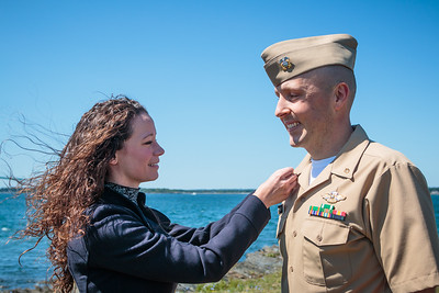 LCDR Richter Promotion