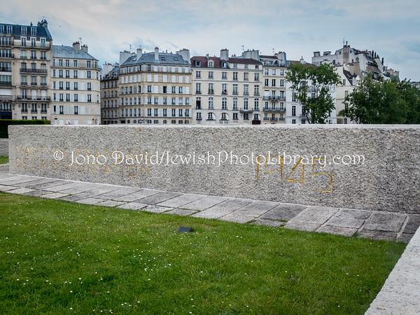 FRANCE, Paris. Mémorial des Martyrs de la Déportation (5.2018)