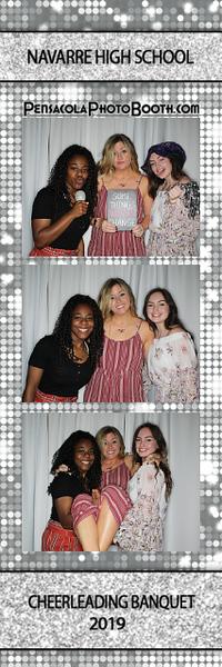 Navarre High School Cheerleading Banquet 2-23-2019