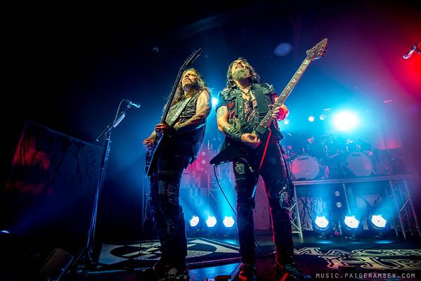 2018 Machine Head - The Orange Peel - Asheville NC