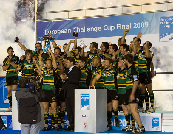 Bourgoin vs Northampton Saints, European Challenge Cup Final, Twickenham Stoop, 22 May 2009