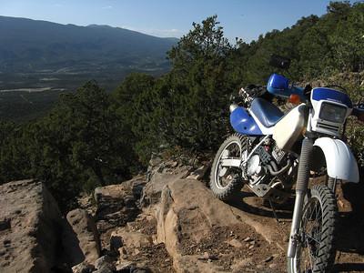 Placitas-Sandia Crest-Cedro Peak DS Ride  5-17-09