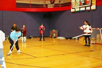 Floor Hockey Training