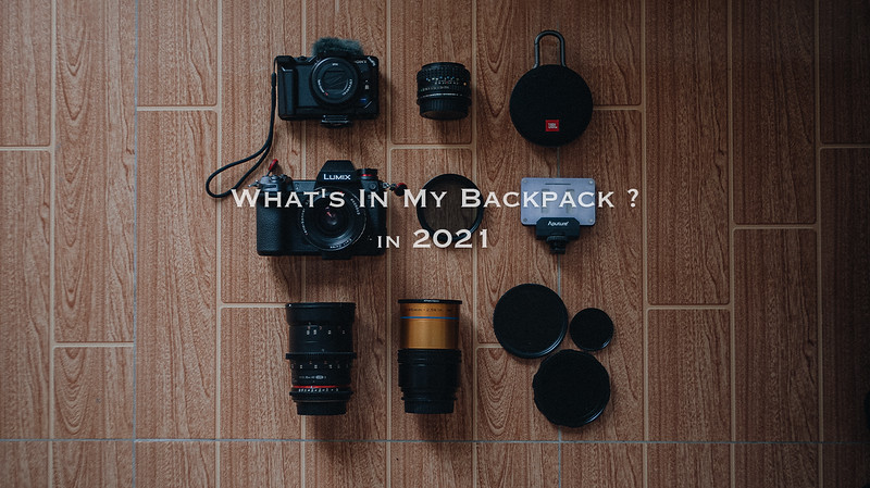 What's in my backpack 2021 ?